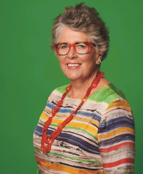 Prue Leith glasses
