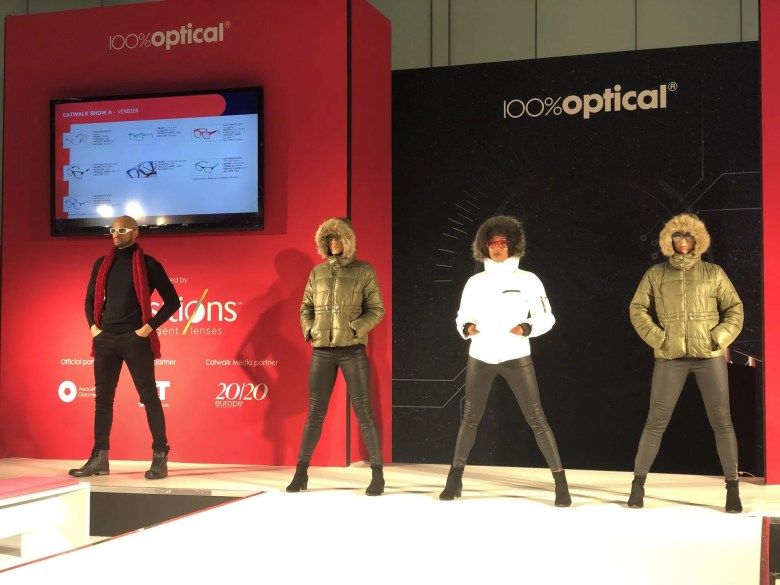 catwalk at 100% Optical 2020