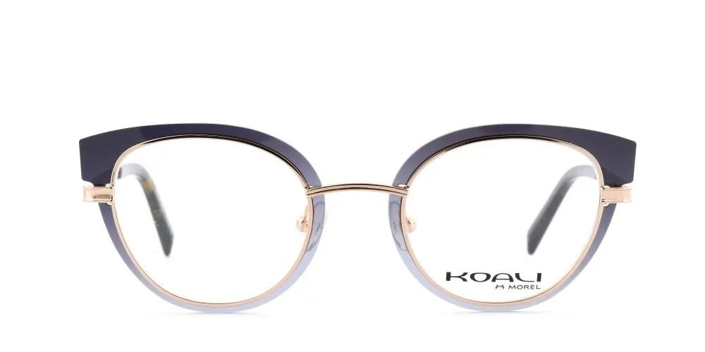 Black elegant eyewear by Morel