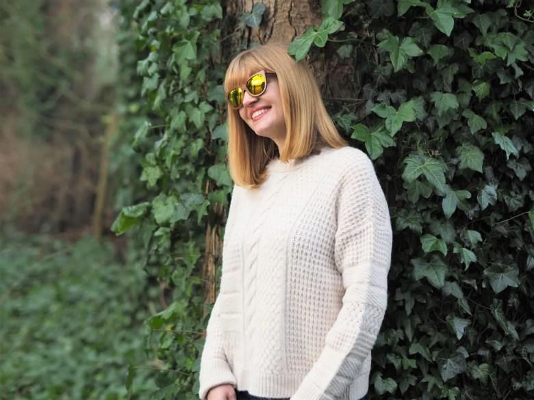 yellow mirror sunglasses