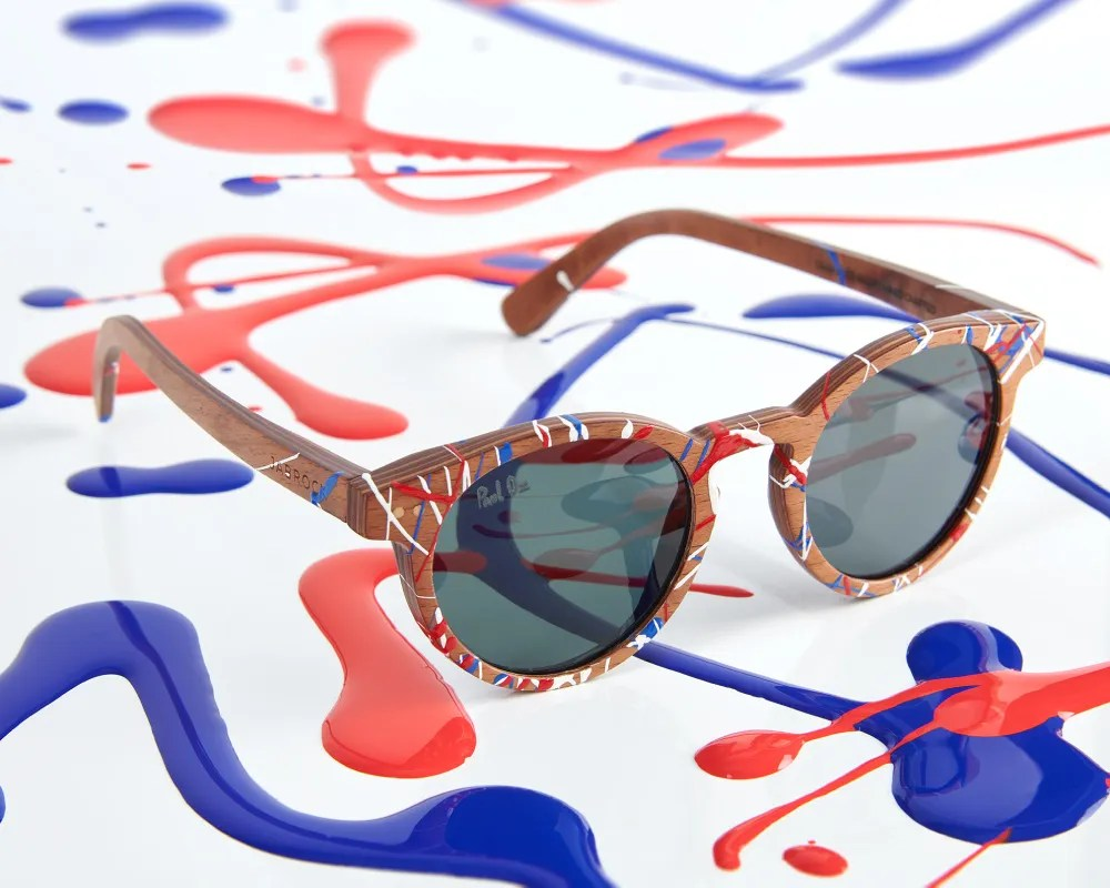 Paul Oz painted eyewear
