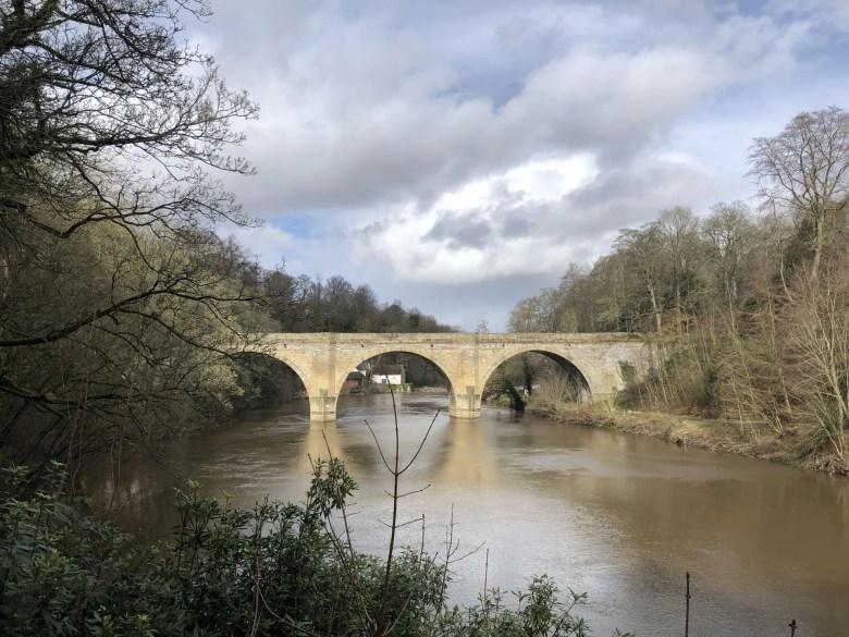 bridge in Durham over River Wear