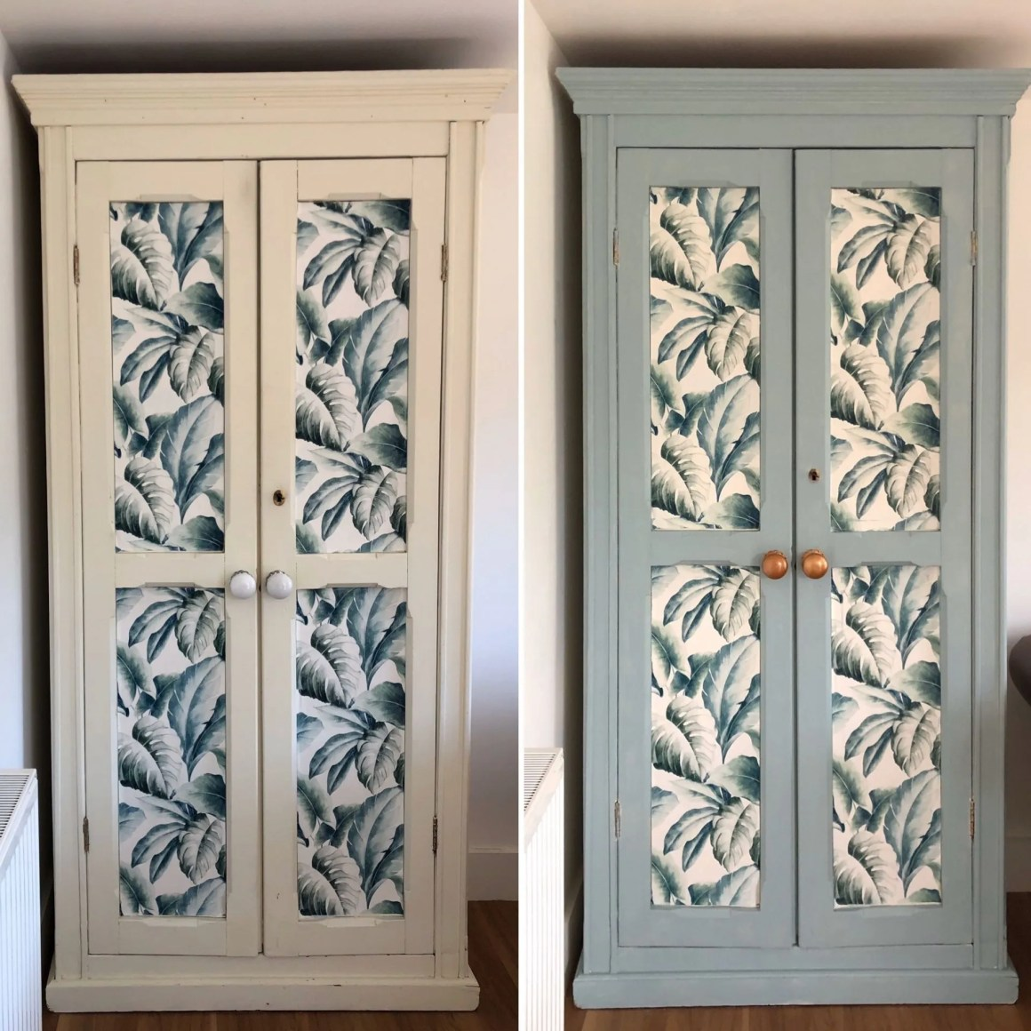 how to repaint a cupboard