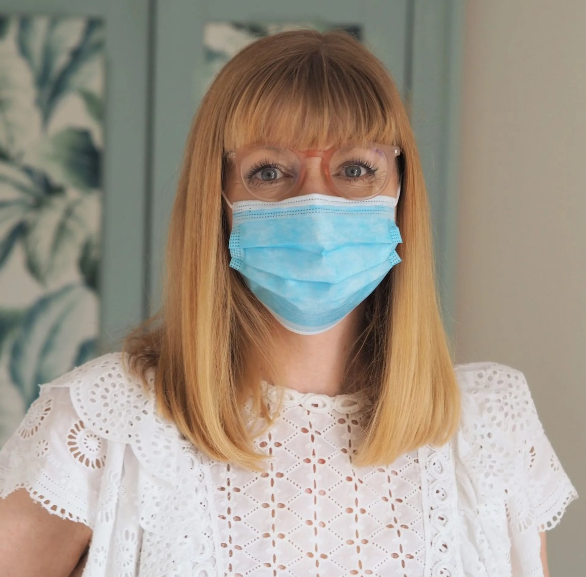 stop glasses fogging when wearing a mask