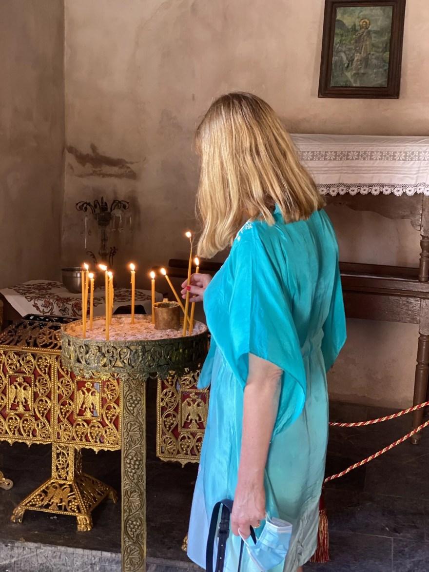 turquoise silk kaftan