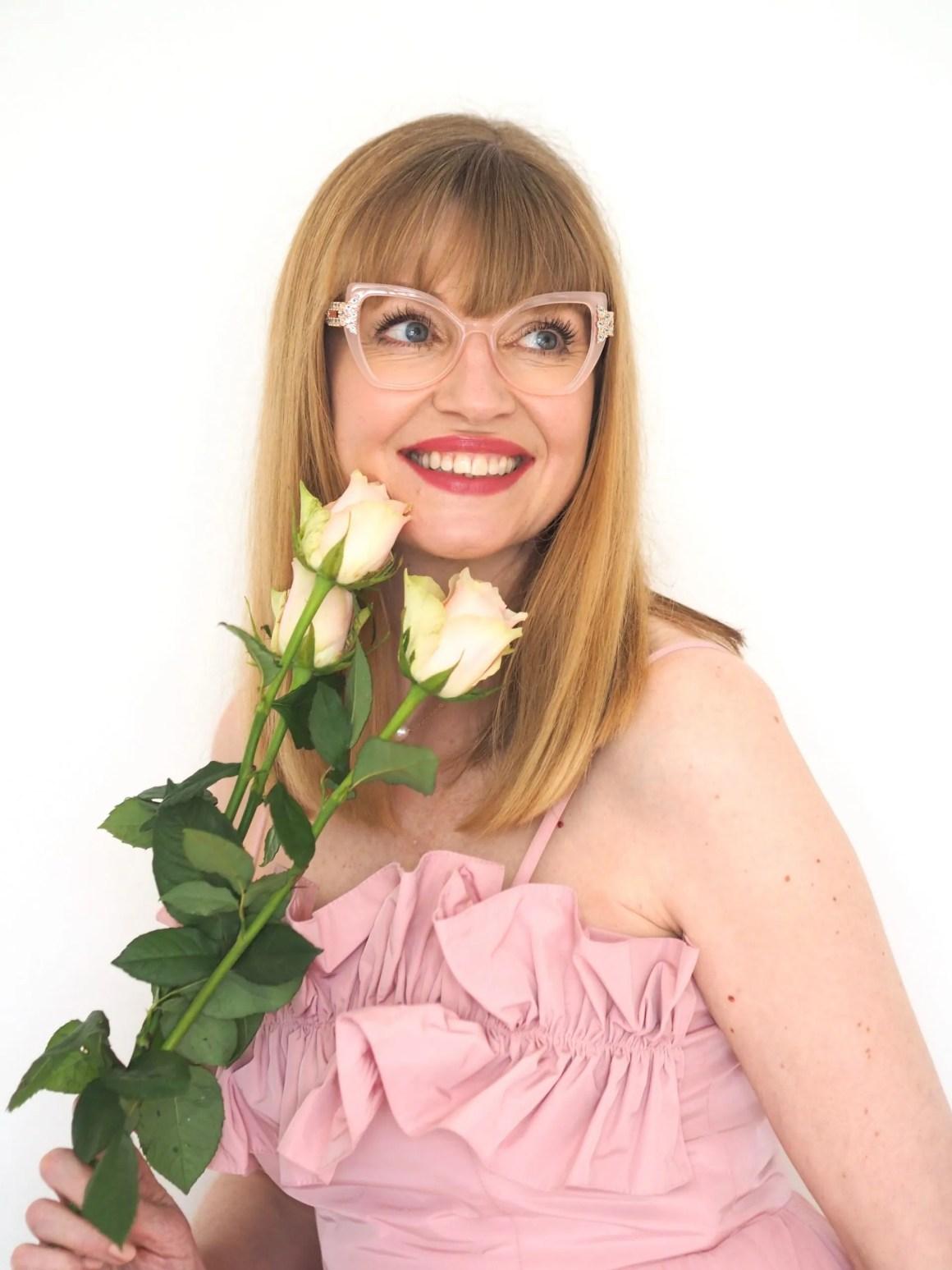 Aurora by Pier Martino eyewear set with Swarovski crystals