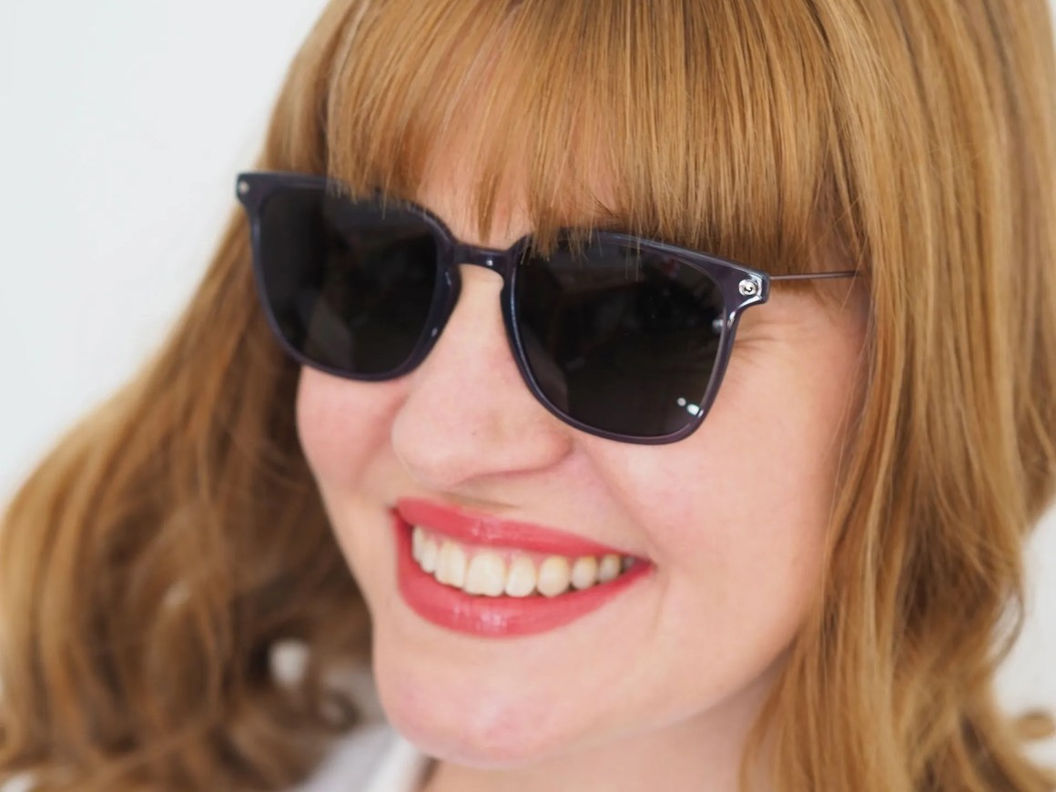 grey STEPPER sunglasses made from TX5