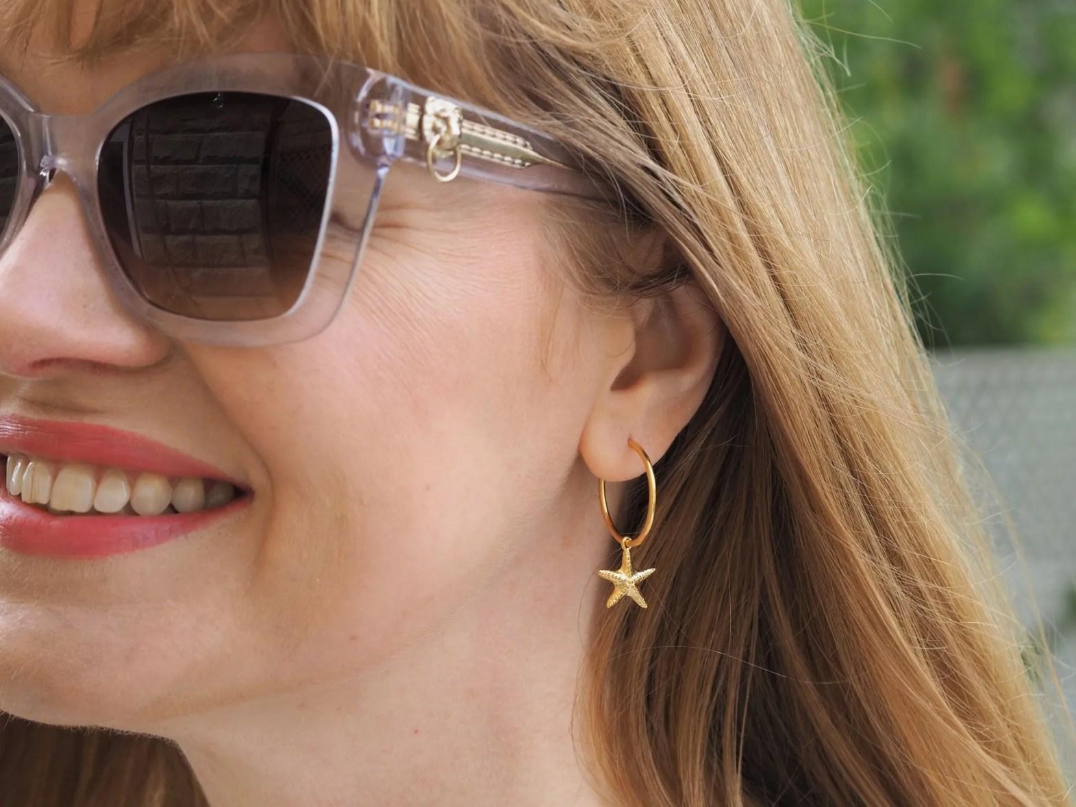 annie haak starfish earrings