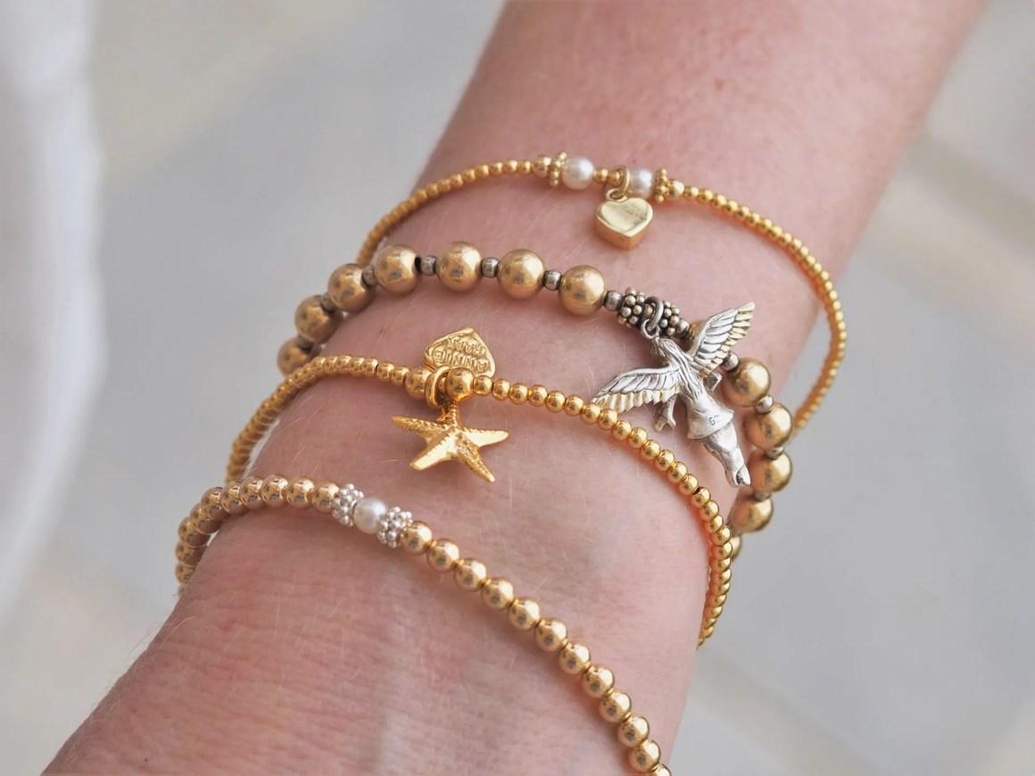 Anie Haak stacking bracelets