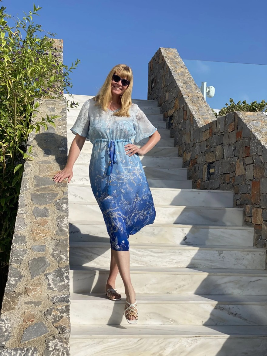 daytime honeymoon outfits for Crete in August
