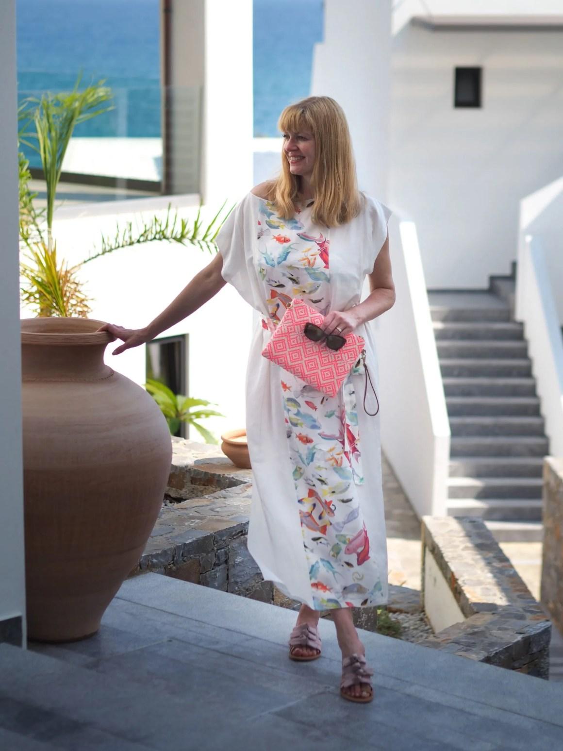 Honeymoon wardrobe for Crete