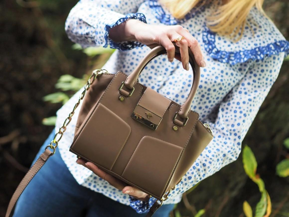 Ilex London Alexa bag in clay leather