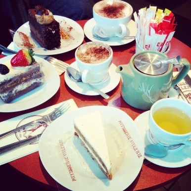 Teatime at Patisserie Valerie