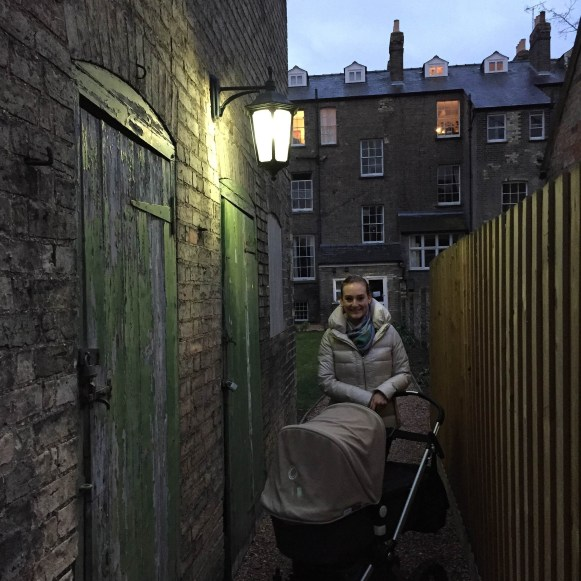 Sunday family walk: this time we explored Emmanuel College