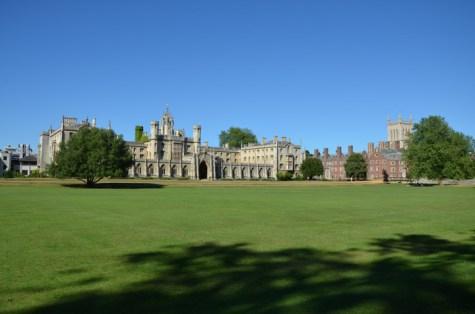St. John's College in Summer