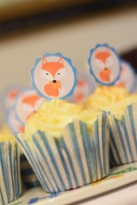 It took us hours cutting and glueing the cupcake sticks - but it was totally worth it!