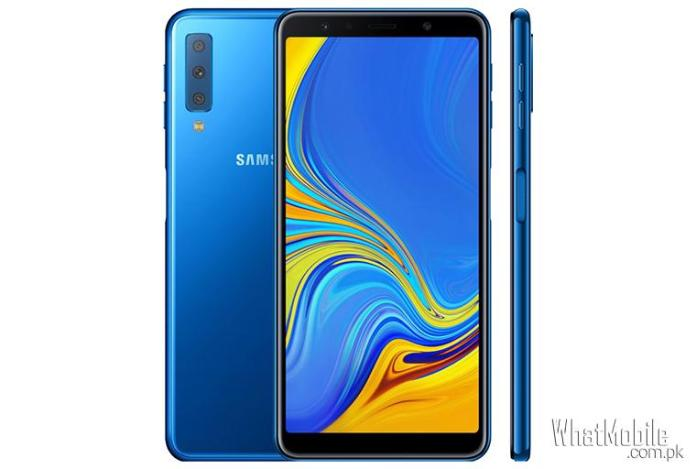 Samsung Galaxy A7 2018 Front Back and side