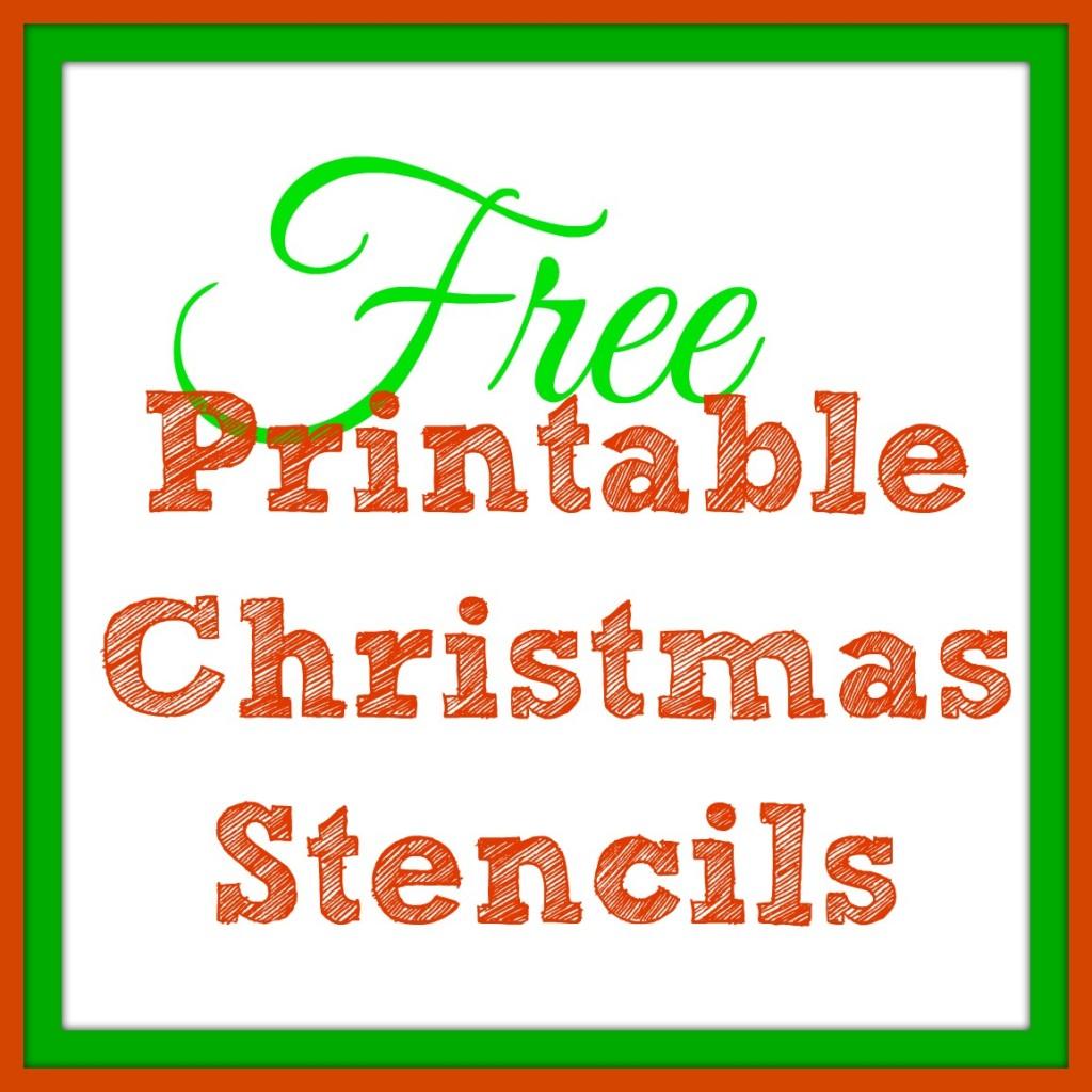 Free Printable Christmas Stencils Christmas Tree