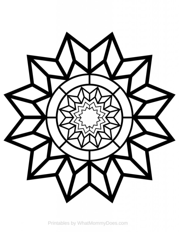 coloring pages patterns # 11