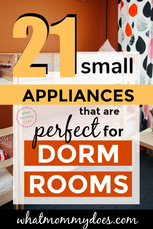 21 tiny appliances for your dorm room