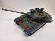 Hugine 15 Channel 1/20 RC Tank USA M60