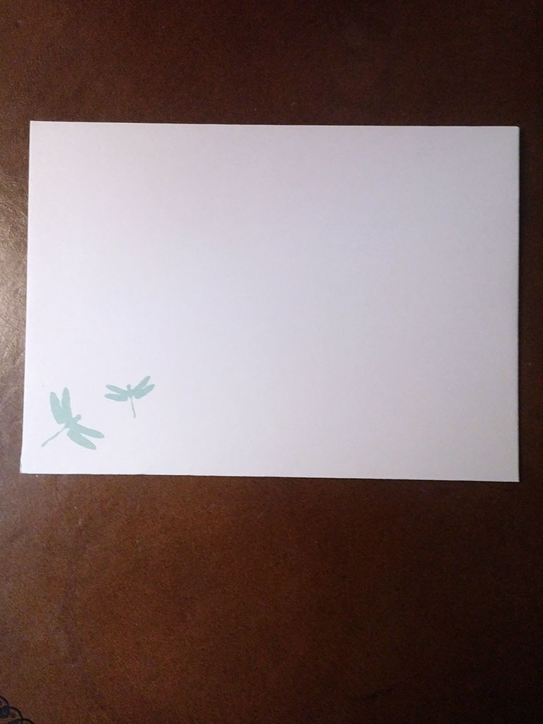 Dragonfly Note Cards