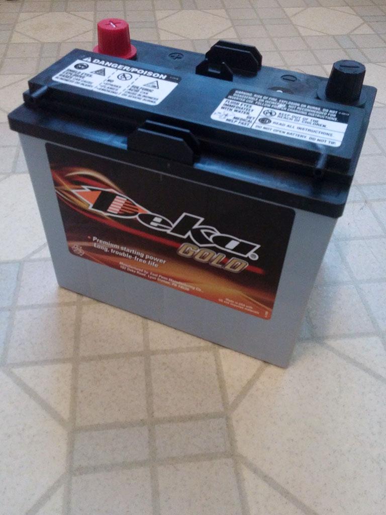 MAZDA Miata Battery Deka/East Penn 8AMU1R AGM