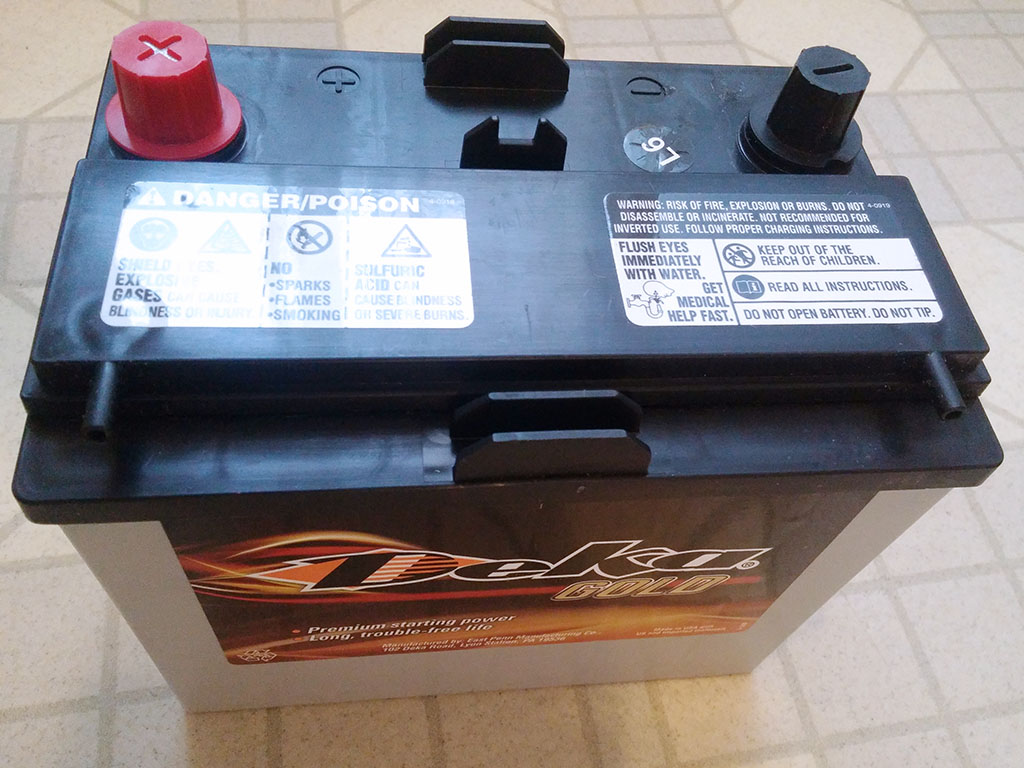 MAZDA Miata Battery Deka/East Penn 8AMU1R AGM