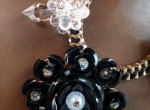 Houda Bohemia Iron Flowers Pendant