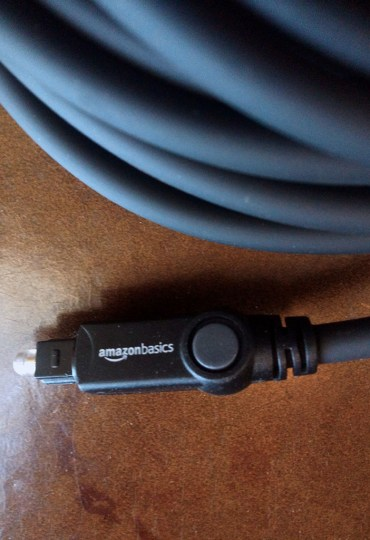 AmazonBasics Toslink Cable