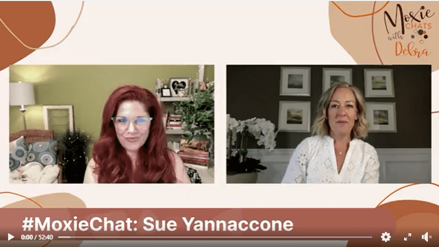 Moxie chat with Sue