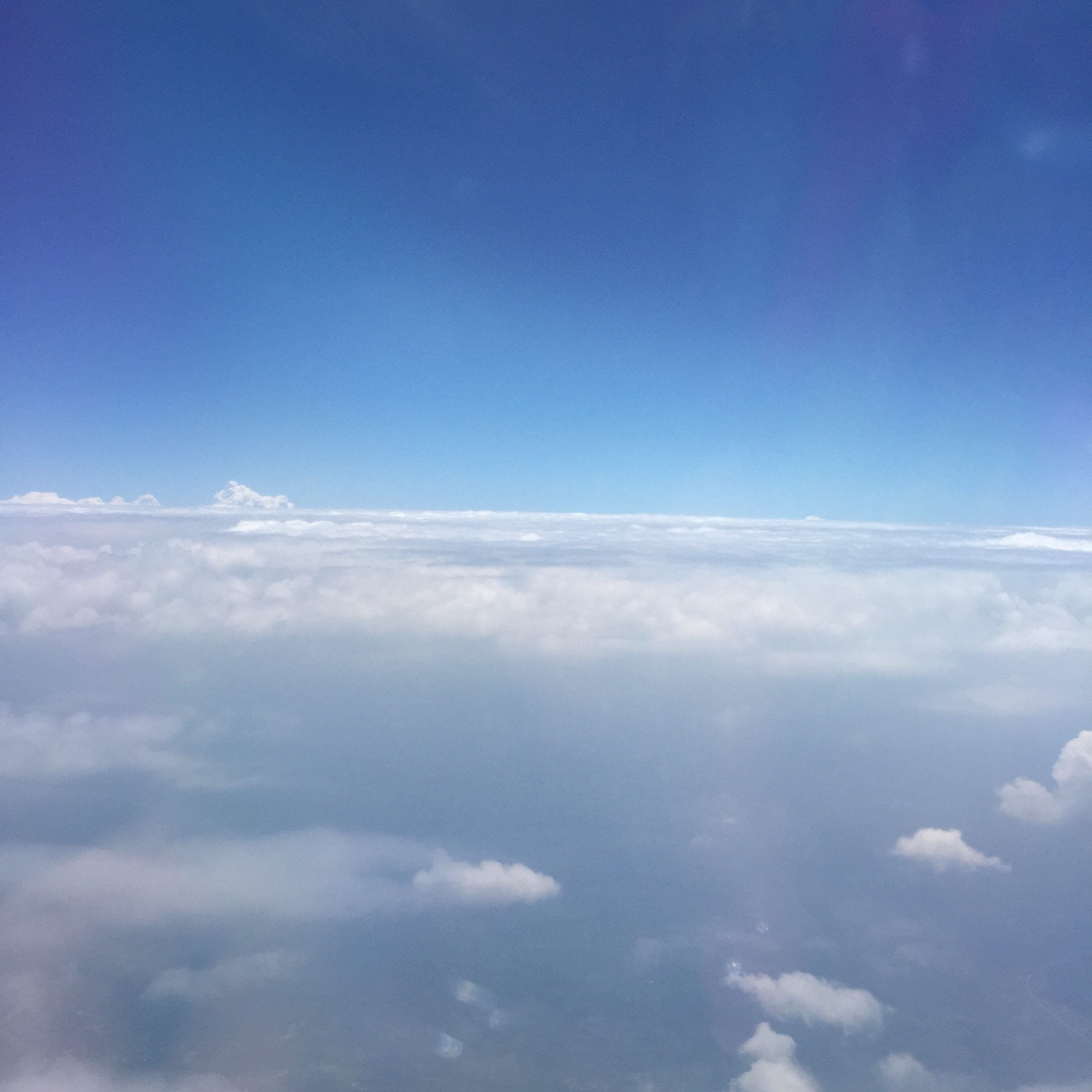 view from my United flight