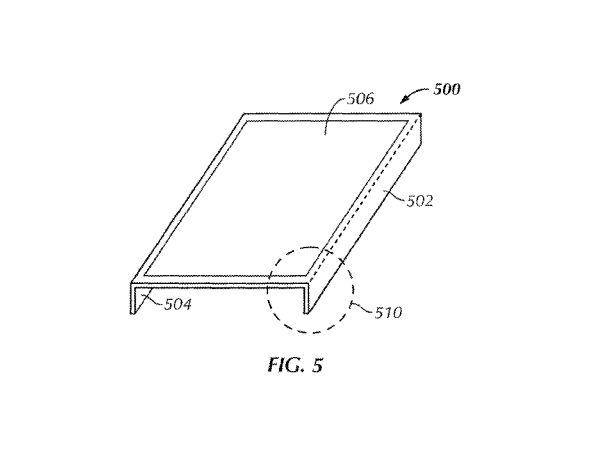 Apple Borderless Patent
