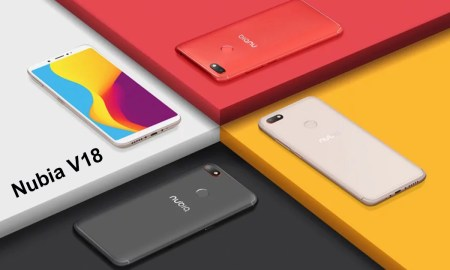 Nubia V18 ALL Colors Render FEat