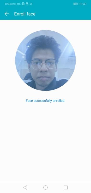 Honor 10 Face Unlock