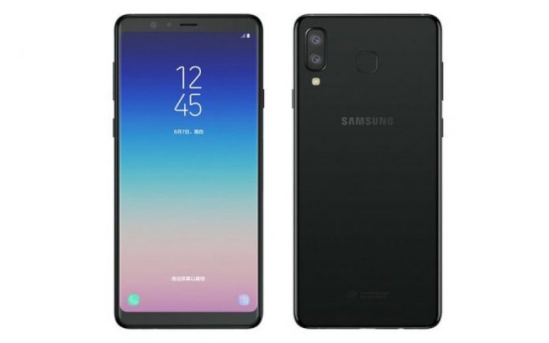 Samsung Galaxy A9 Star Black - 1