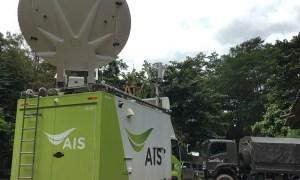 AIS ส่งรถสถานีฐานเคลื่อนที่เพิ่ม สนับสนุนภารกิจค้นหาหมูป่าอคาเดมี่เต็มที่