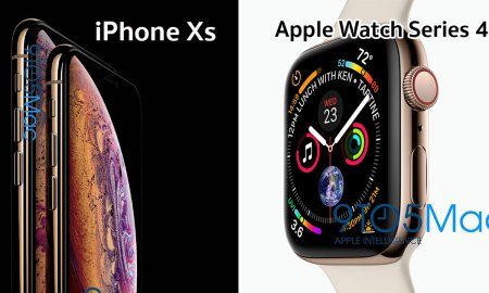 IPHONE XS and Apple Watch Series 4
