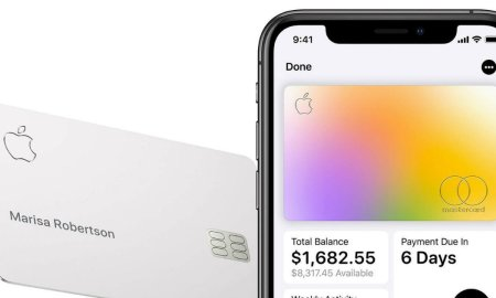 Apple Card Header