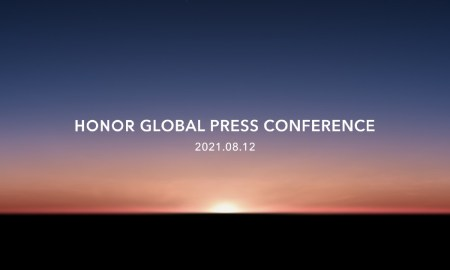 Honor Global Press Conference August 2021 Header
