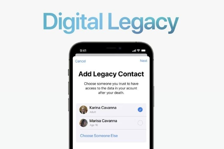 iCloud Legacy Contacts