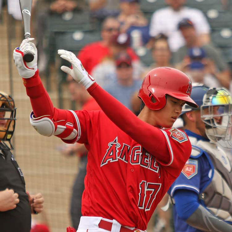 What Pros Wear Shohei Ohtani's Bat, Batting Gloves, Cleats ...