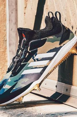 7a03aa58d66b miadidas adizero Afterburner 5; Aaron Judge's Icon 4 Bounce Cleats. Harper  3 Makes Its Debut on Memorial Day. Load more. FOLLOW WHAT PROS WEAR