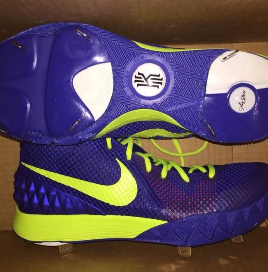fe9ad42345c Russell Martin's Kyrie 1 (by Custom Cleats Inc) Shop