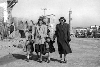 Jewish refugees resettled in jaffa_1949