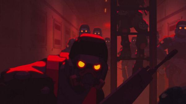 Love, Death & Robots Episode 15: Blindspot Ending ...