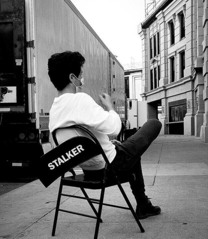 joe on set you season 3 netflix