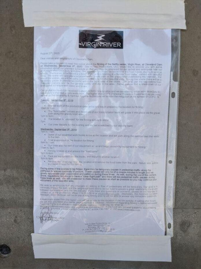virgin river season 3 production notice