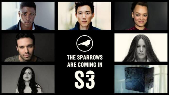 sparrow casting for the umbrella academy season 3