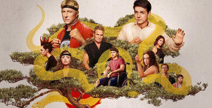 cobra kai top 50 tv series on netflix